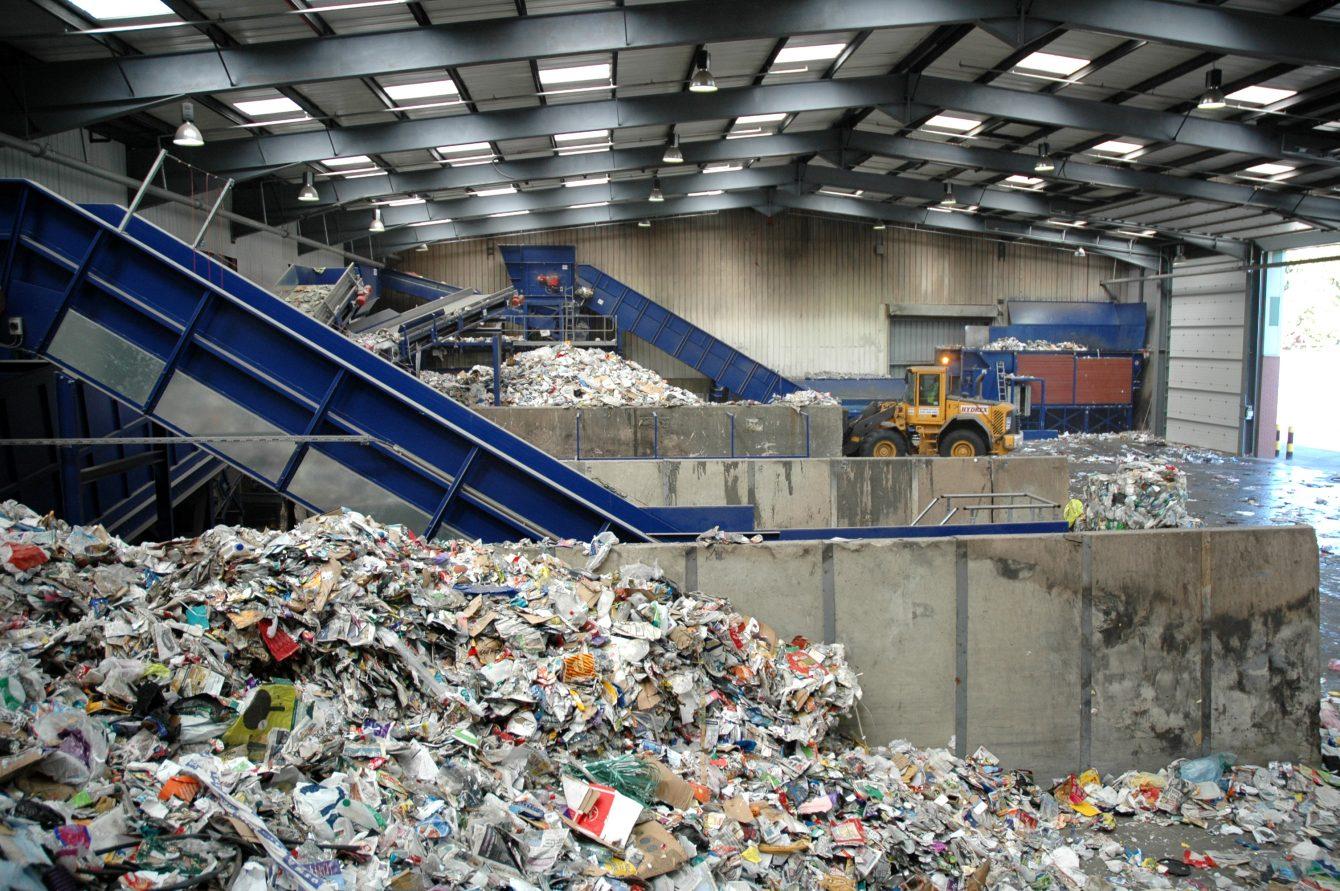 Nhà máy xử lý rác ở Đức