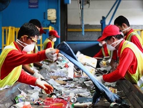 Xử lý rác thải ở châu Á - Singapore