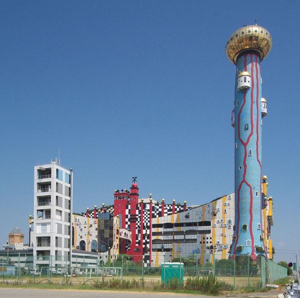 Một trong những địa điểm xử lý rác thải tại Nhật