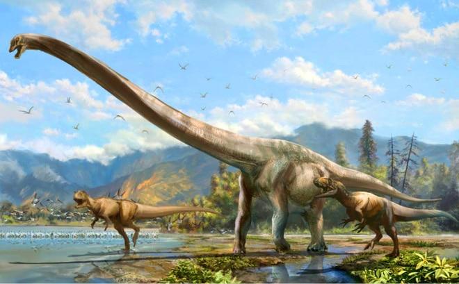 Kích thước khủng long khổng lồ