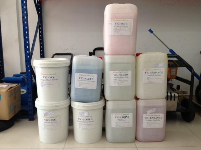 Hoá chất bột giặt công nghiệp