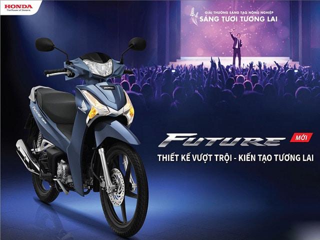 Honda đã nâng cấp làm mức tiêu hao nhiên liệu của Future 125 Fi giảm đáng kể