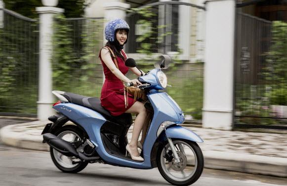 Yamaha Janus được trang bị nhiều trang thiết bị hiện đại