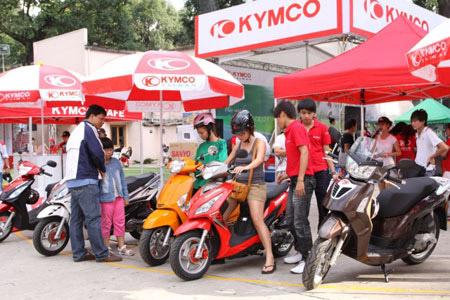 Tìm hiểu thêm một số địa chỉ bán xe điện Kymco uy tín