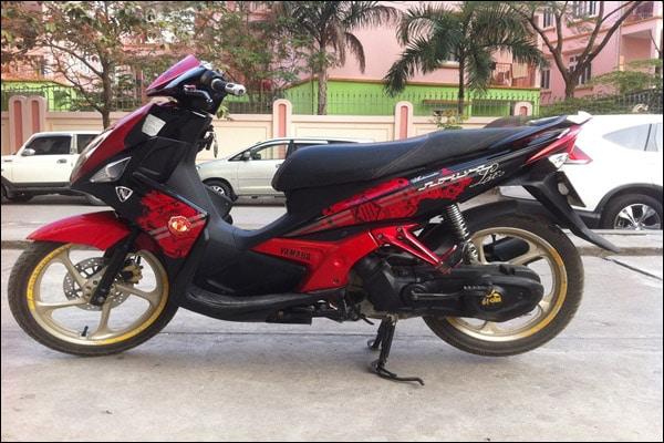Mức tiêu hao nhiên liệu của dòng xe Yamaha Nouvo 3