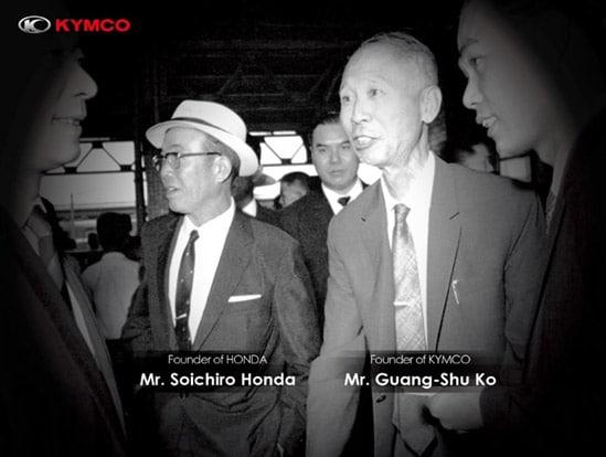 Chân dung người sáng lập ra thương hiệu Kymco - ông Guang Shu Ko