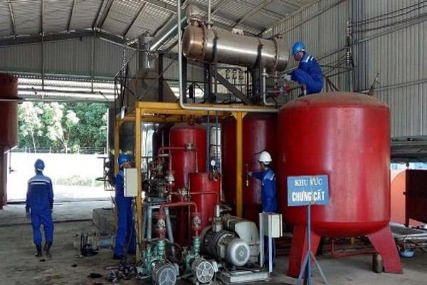 Các công nghệ tái chế dầu nhớt thải