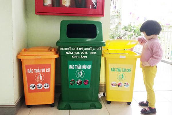 Hướng dẫn phân loại rác thải sinh hoạt