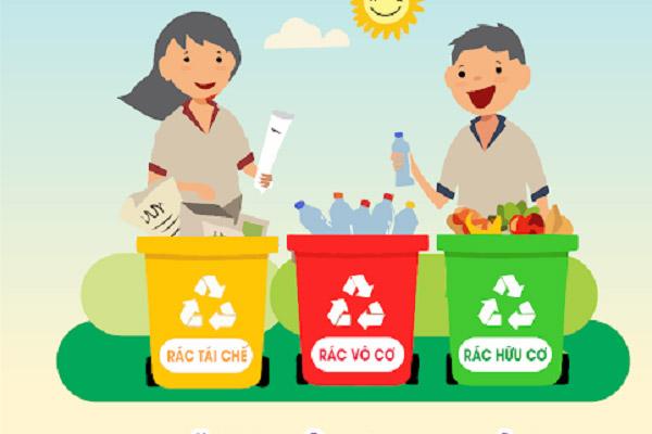 Phân loại rác thải sinh hoạt đúng cách