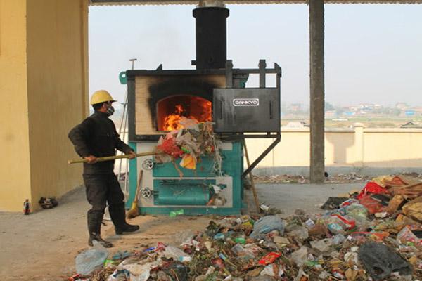 Thiêu đốt để xử lý rác thải sinh hoạt