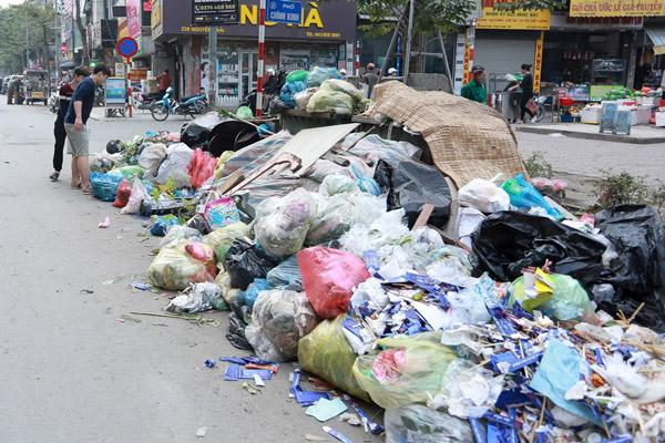 Thực trạng rác thải sinh hoạt hiện nay tại Việt Nam