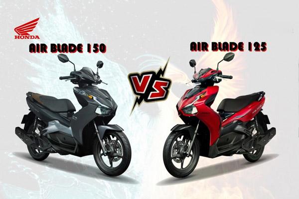 So sánh mức tiêu hao nhiên liệu của Honda Air Blade 125cc và 150cc