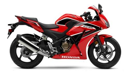 Honda CBR300R màu Đỏ đen nổi bật dành cho nữ 1m50