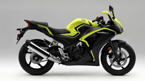 Honda CBR300R Xanh đen ấn tượng