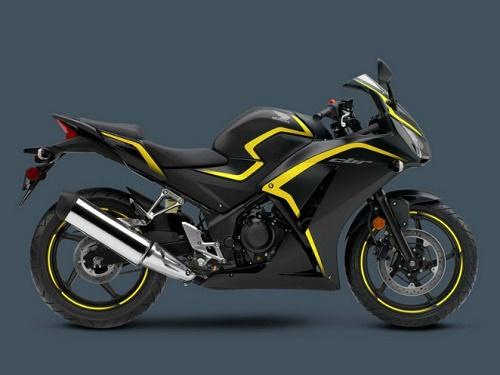 Honda CBR300R màu Đen cá tính