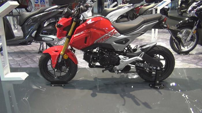 Honda MSX 125 thu nhận được sự quan tâm của rất nhiều biker