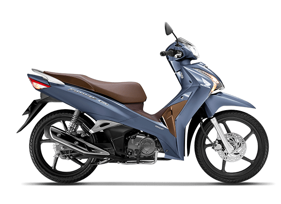 Hình dáng của Honda Future vành đúc