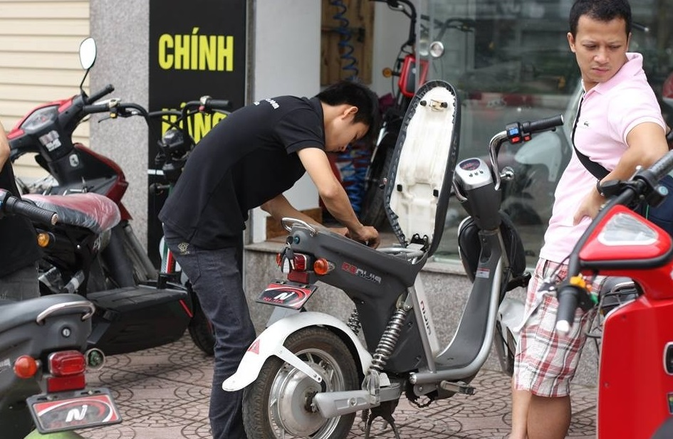 Rủi ro khi mua xe máy điện cũ