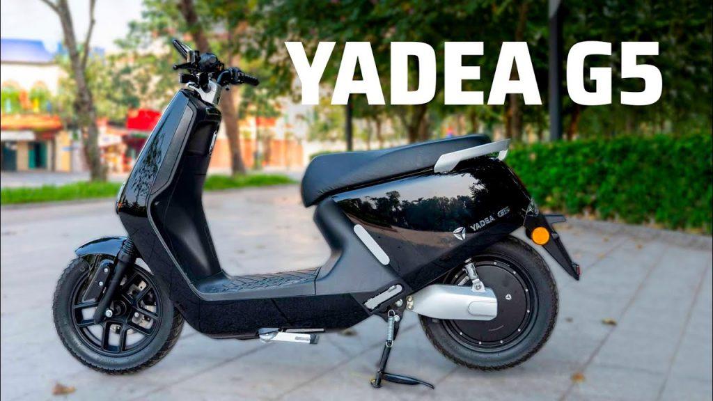 Yadea G5 với giá 39.990.000 đồng