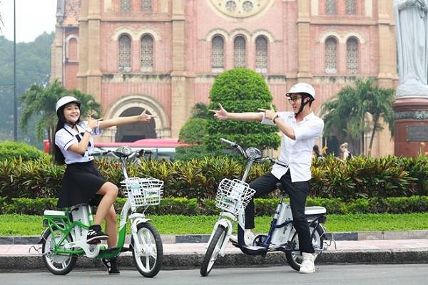 Xe đạp điện có giá rẻ hơn xe máy điện