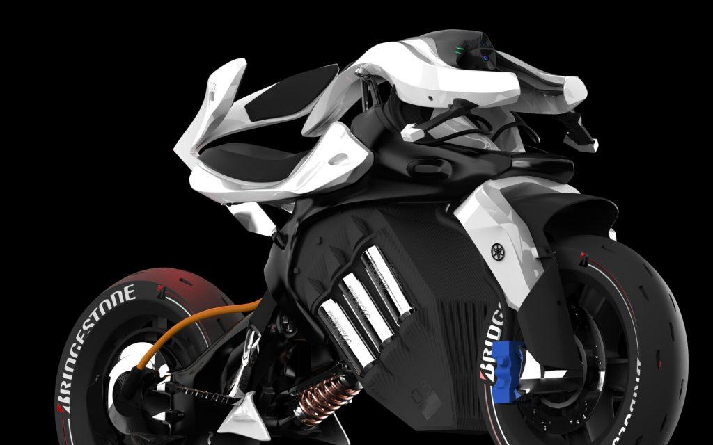 Cận cảnh xe Yamaha Motoroid.